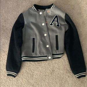 Abercrombie and Fitch Kids Varsity Jacket